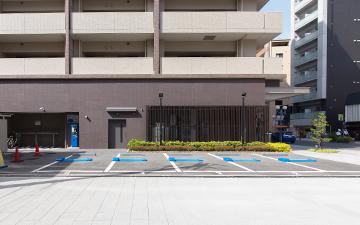 停めやすい駐車場