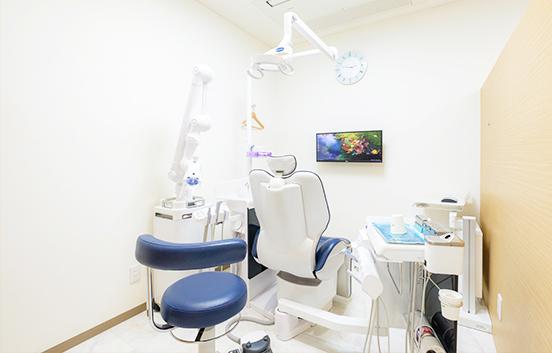 半個室の診療ユニット1