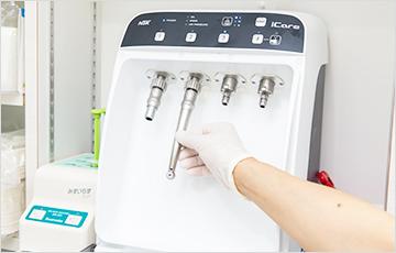 ハンドピース専用自動洗浄器